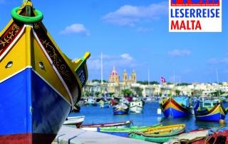 PROFIL-Leserreise 2020 nach Malta