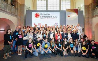 Deutscher Lehrerpreis 2016 Gruppenfoto