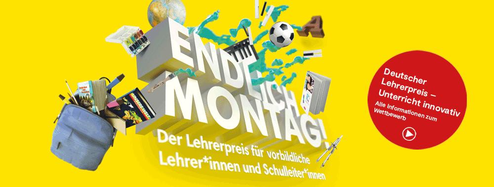 Endlich Montag - Deutscher Lehrerpreis