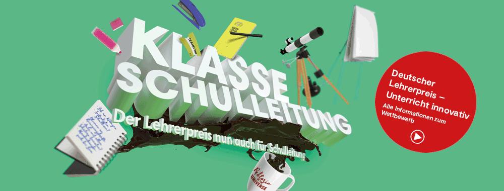 Klasse Schulleitung - Deutscher Lehrerpreis