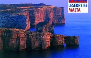 Profil Leserreise Maltas Steilküste