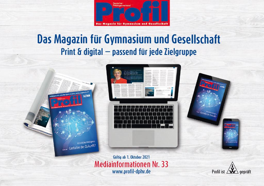 Mediadaten Profil 2022
