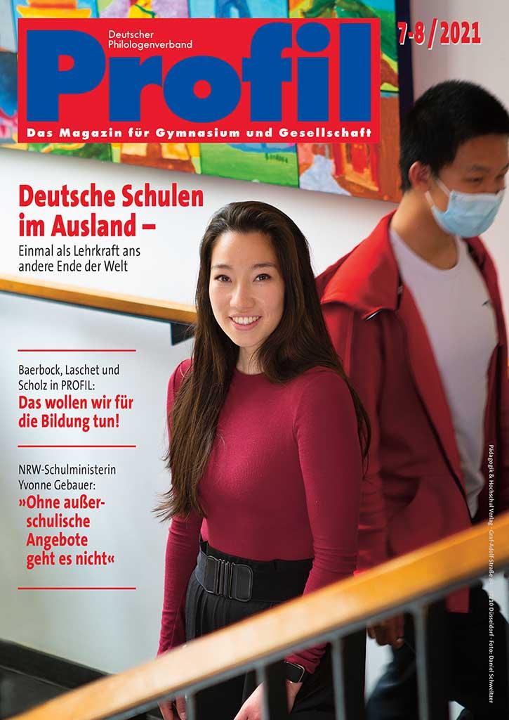 Titel Profil Ausgabe 7-8/2021