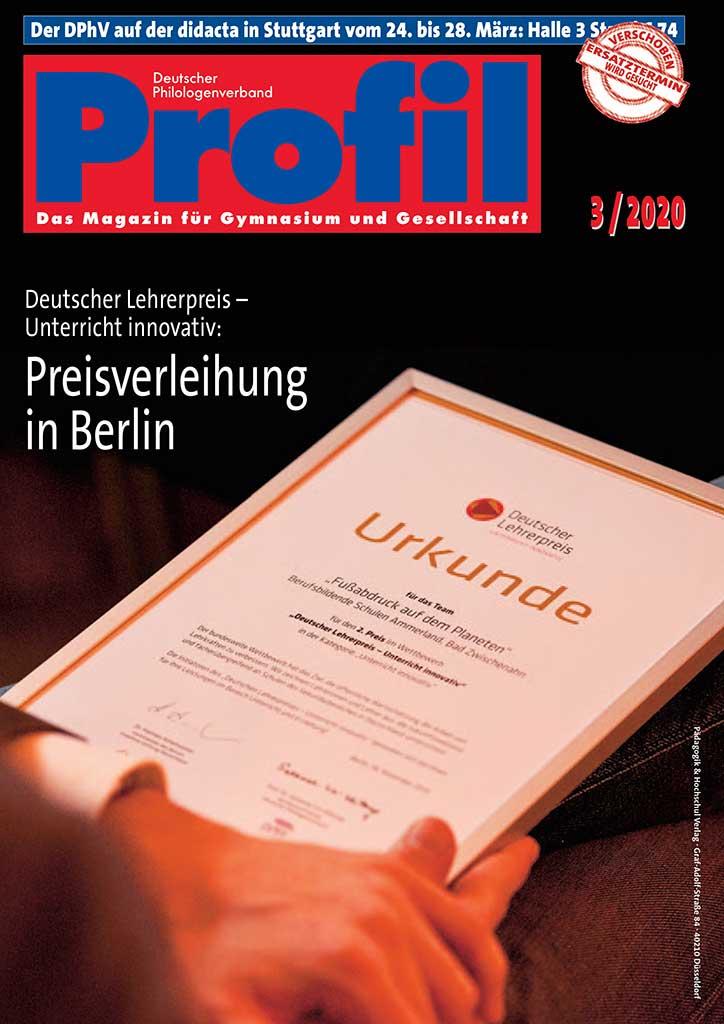 Titel Profil Ausgabe 03/2020