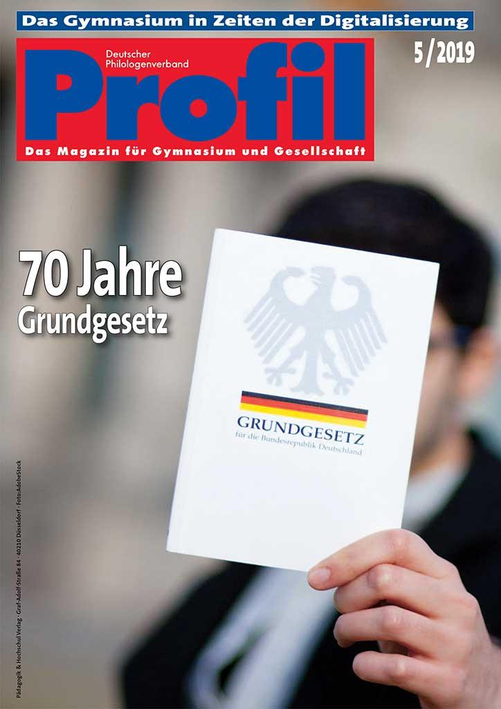 Profil Lehrerzeitschrift Ausgabe 05/2019