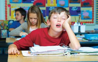 Schule und Langeweile
